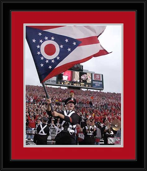 M2 Note Ohio State Buckeyes ohio state buckeyes framed poster print marching band