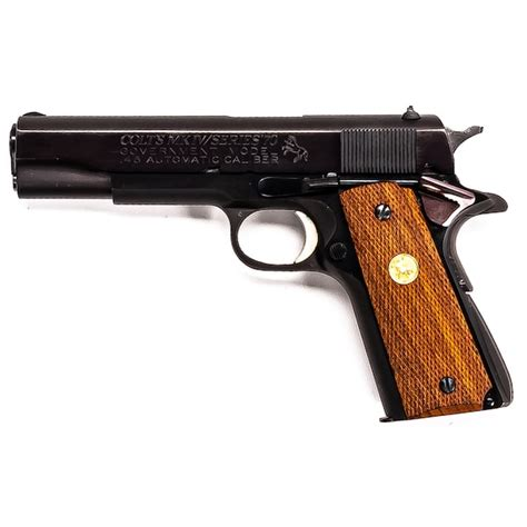 Colt Government Model Mkiv Series 70 For Sale Used