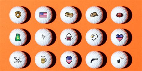 Personalize Your Golf Balls With Your Custom Logo, Text Or
