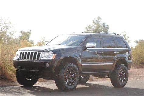 raised jeep grand cherokee custom lifted jeep grand cherokee overland