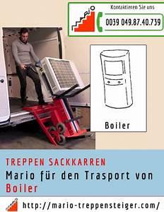 Sackkarren Für Treppen : boiler trasport auf treppe ~ Watch28wear.com Haus und Dekorationen