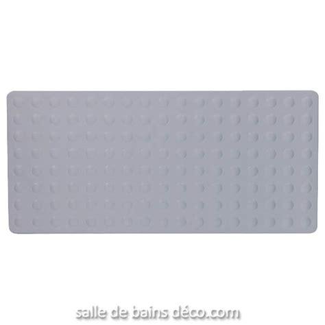 tapis antidrapant baignoire kela lanka gris