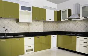 simple kitchen interior design ideas homefuly easy to make With kitchen colors with white cabinets with free sticker maker