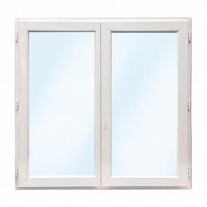 Fenêtre Oscillo Battant Pvc : fen tre pvc 2 vantaux 1 oscillo battant 155x90 ~ Edinachiropracticcenter.com Idées de Décoration