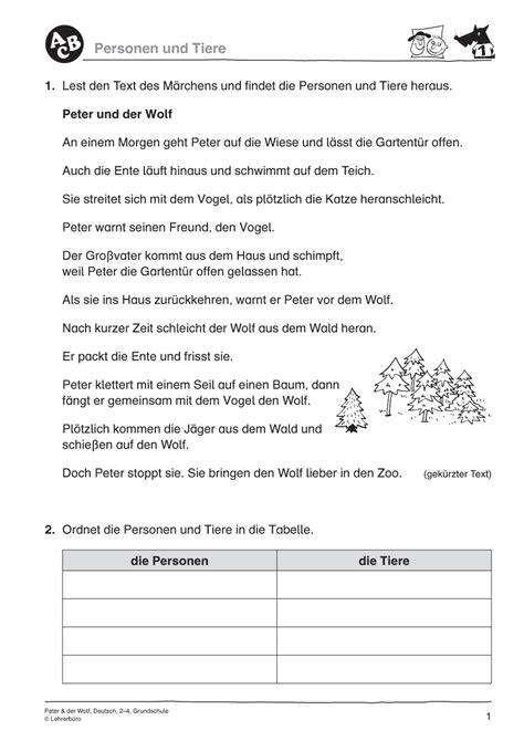 Peter Und Der Wolf Grundschule - Fireball Suche