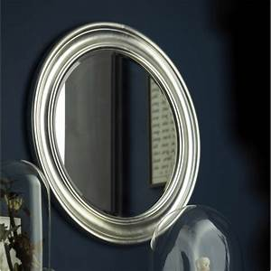 Miroir Rond à Suspendre : miroir daventry rond argent x cm leroy ~ Teatrodelosmanantiales.com Idées de Décoration