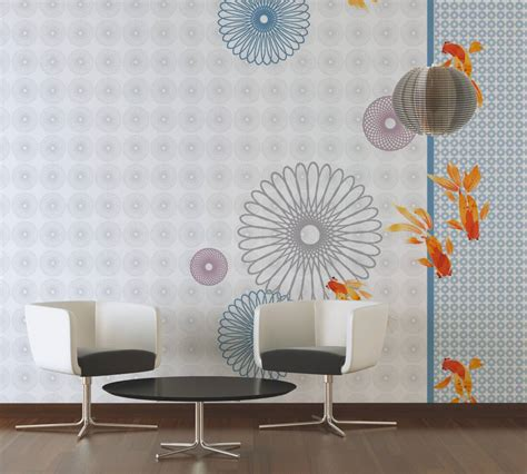livingwalls photo wallpaper stylized aquarium
