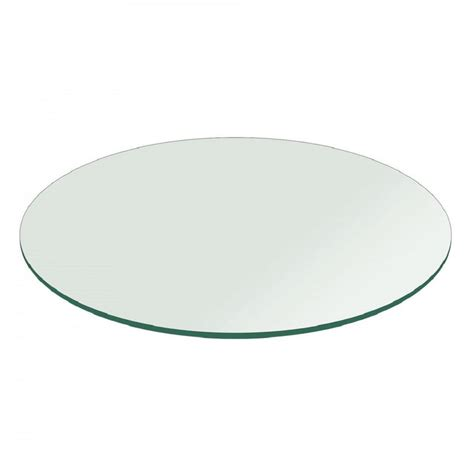 36 round glass table top fab glass and mirror 36 in round glass table top 1 4 in