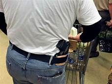 Major retailers follow Walmart and are banning open carry of firearms in stores…