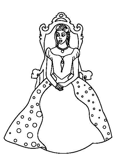 دانلود کتاب رنگ آمیزی پرنسس برای کودکان (With images)   Sketches