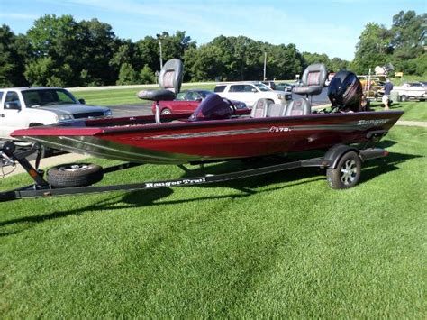 Used Aluminum Ranger Bass Boats For Sale by Ranger Rt178c Boats For Sale Boats