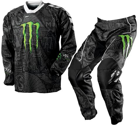motocross gear for one industries carbon monster energy mx race motocross