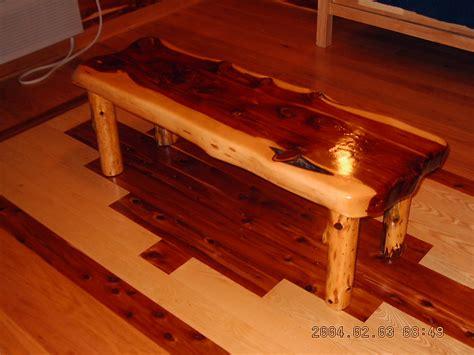 Rustic furniture  Red cedar.
