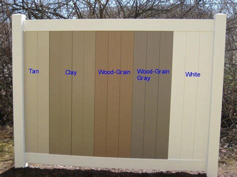 pvc vinyl fences and railings american fence and railing