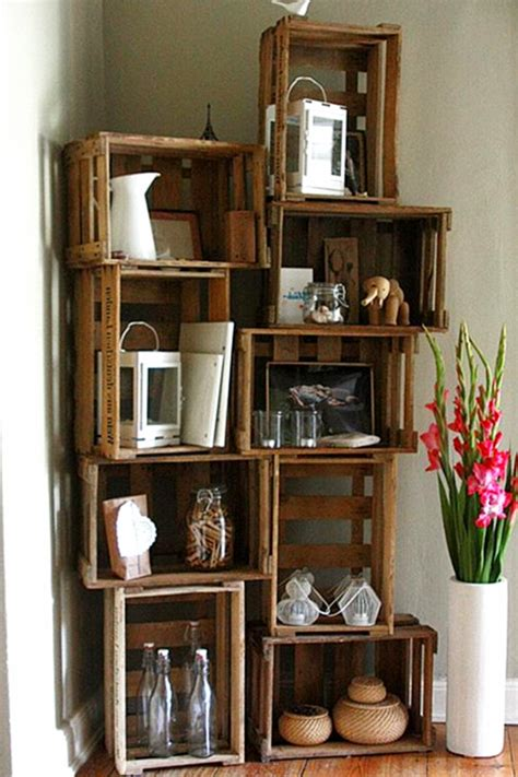 diy crate furniture ideas pictures  wooden crates