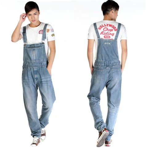 mens denim jumpsuit popular jean jumpsuits for aliexpress