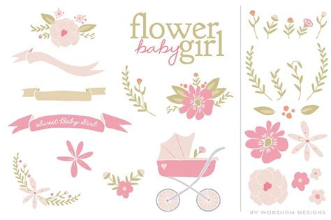 blue stork template joomla 3 flower baby girl vector illustrations creative market