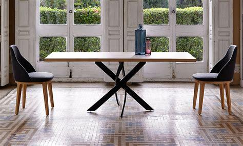 mesa comedor rectangular moderna xenon de lujo en