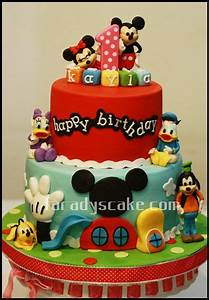 mickey+and+friends+cake | Mickey Mouse Club House for ...