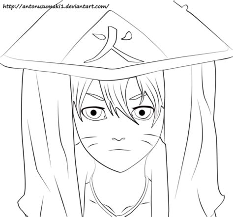 boruto hokage coloring page  printable coloring pages