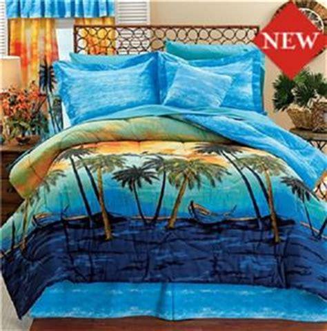 tropical theme island dreams comforter set king size free