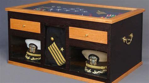 military retirement sea chest making  navy sea chest