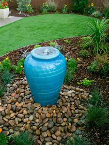 Yard crashers water feature wonderland yard crashers diy for Backyard water fountains