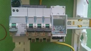 Compteur Divisionnaire électrique : installation sous compteur dans tableau ~ Melissatoandfro.com Idées de Décoration