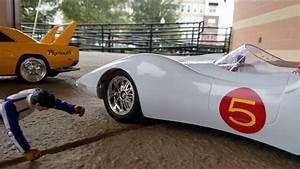Speed Racer vs Racer X (RC car action) - YouTube