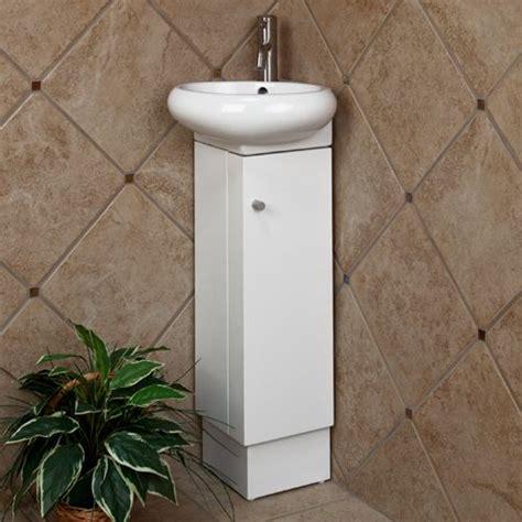 tiny corner bathroom sink corner vanity vanities and half baths on pinterest