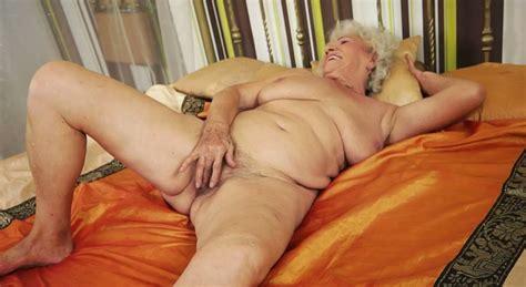Disgusting Fat Granny Norma Masturbates In Her Bedroom