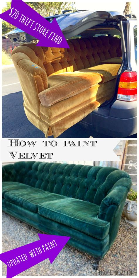 Painted Upholstery Fabric by How To Paint A Or Upholstery Debis Design Diary