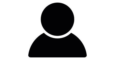 usuario masculino en sombra iconos gratis de social