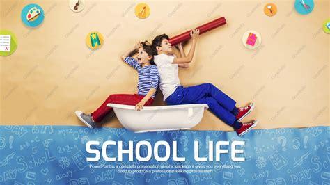 school life  template wide goodpello