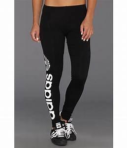 Adidas Originals Trefoil Legging - Multicolor Black/White - Zappos.com Free Shipping BOTH Ways