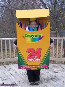 Crayola Crayon Box Halloween Costume Kid