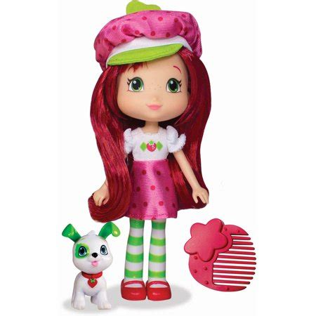 strawberry shortcake doll  pupcake walmartcom