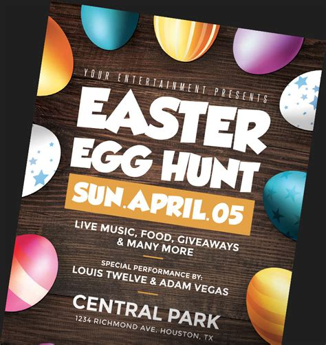 easter flyer template easter flyer templates for photoshop flyerheroes