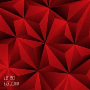 Abstract backgroundred polygonal ornament Free vector in ...