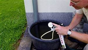 Regenwasser Filtern Selber Bauen : zisterne messen f llstand ermitteln ungew hnliche methode youtube ~ Orissabook.com Haus und Dekorationen