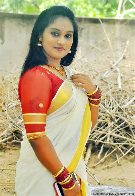 kerala traditional set saree and blouse fashion