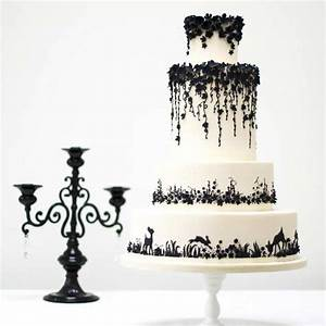 The Spookiest Gothic Wedding Cakes hitched co uk