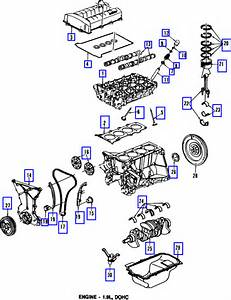 A Diagram Of Engine On 2002 Saturn Sl2