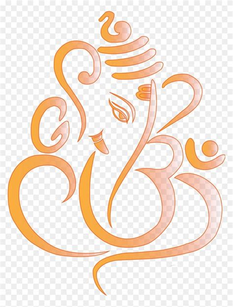 share clipart  ganesha symbol clip art