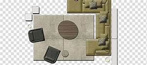 Illustration of sofa and sofa chair, Couch Table Furniture ...