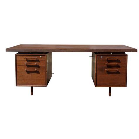 vintage industrial desk l 1 70 quot vintage industrial office supply walnut desk ebay