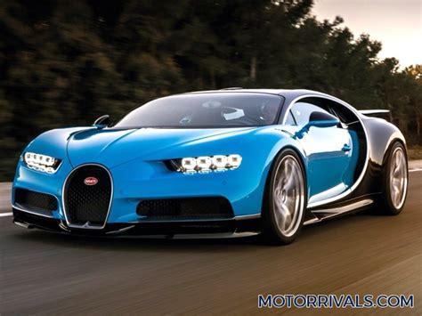 2017 Bugatti Chiron Vs 2016 Bugatti Veyron Super Sport