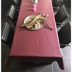Tischfolie Nach Maß : tischdecke abwaschbar vino violett uni 140cm ~ A.2002-acura-tl-radio.info Haus und Dekorationen
