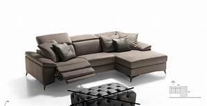 canape design cuir italien canape cuir et tissu 3 places 2 With tapis chambre bébé avec vente en ligne de canapé