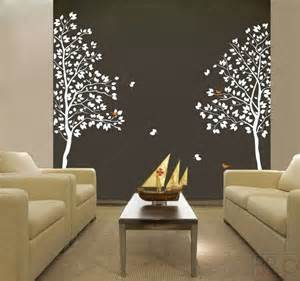white twin tree 83inch tall vinyl wall art decals ebay